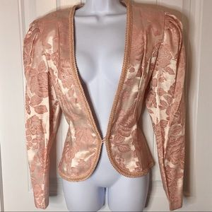 Vintage | Pink Roses Jacket